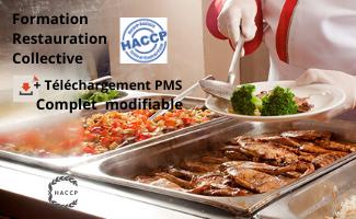 Formation HACCP Restauration Collective + Téléchargement PMS complet modifiable