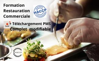 DRAAF Formation HACCP Restauration Commerciale + Téléchargement PMS complet modifiable